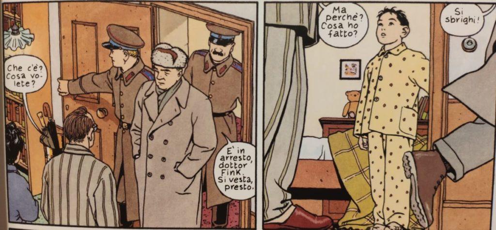 Mio caro fumetto... - Arresto del padre di Jonas Fink
