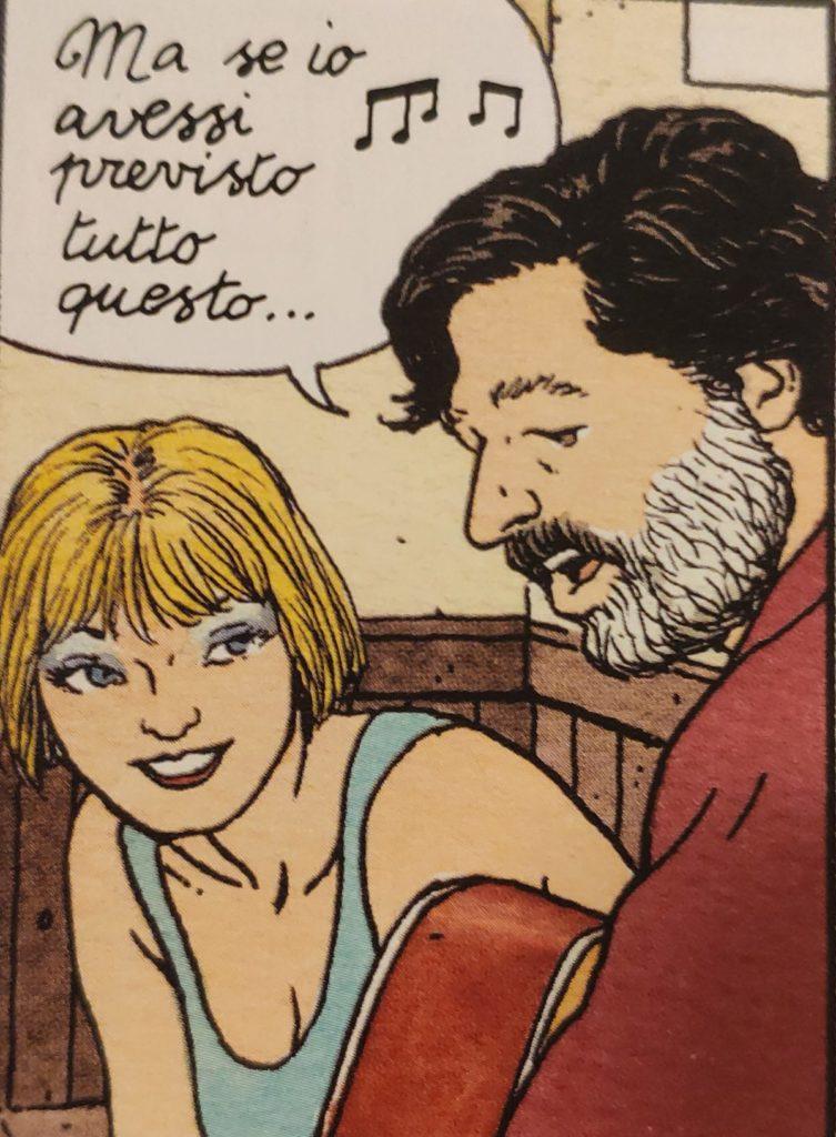 Mio caro fumetto... - Cammeo di Francesco Guccini in Jonas Fink