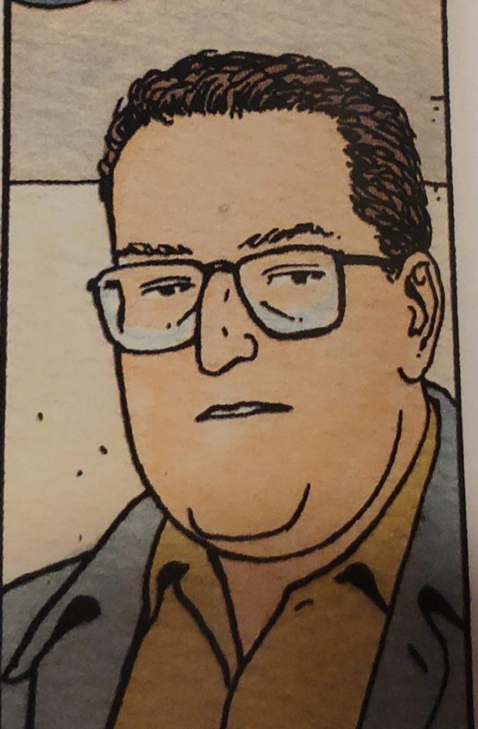 Mio caro fumetto... - Cammeo di Vincenzo Mollica in Jonas Fink