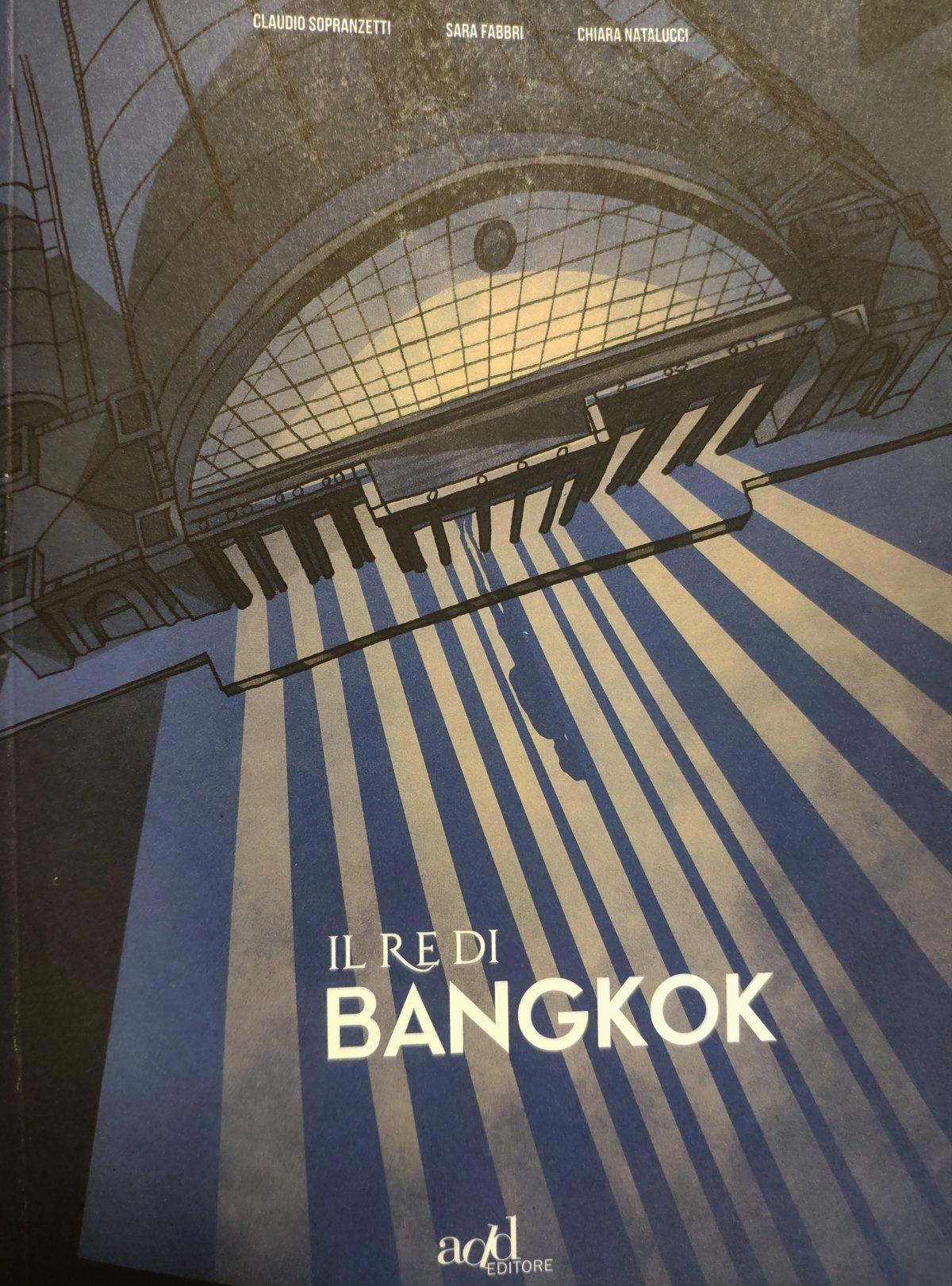Mio caro fumetto... - Copertina de Il re di Bangkok