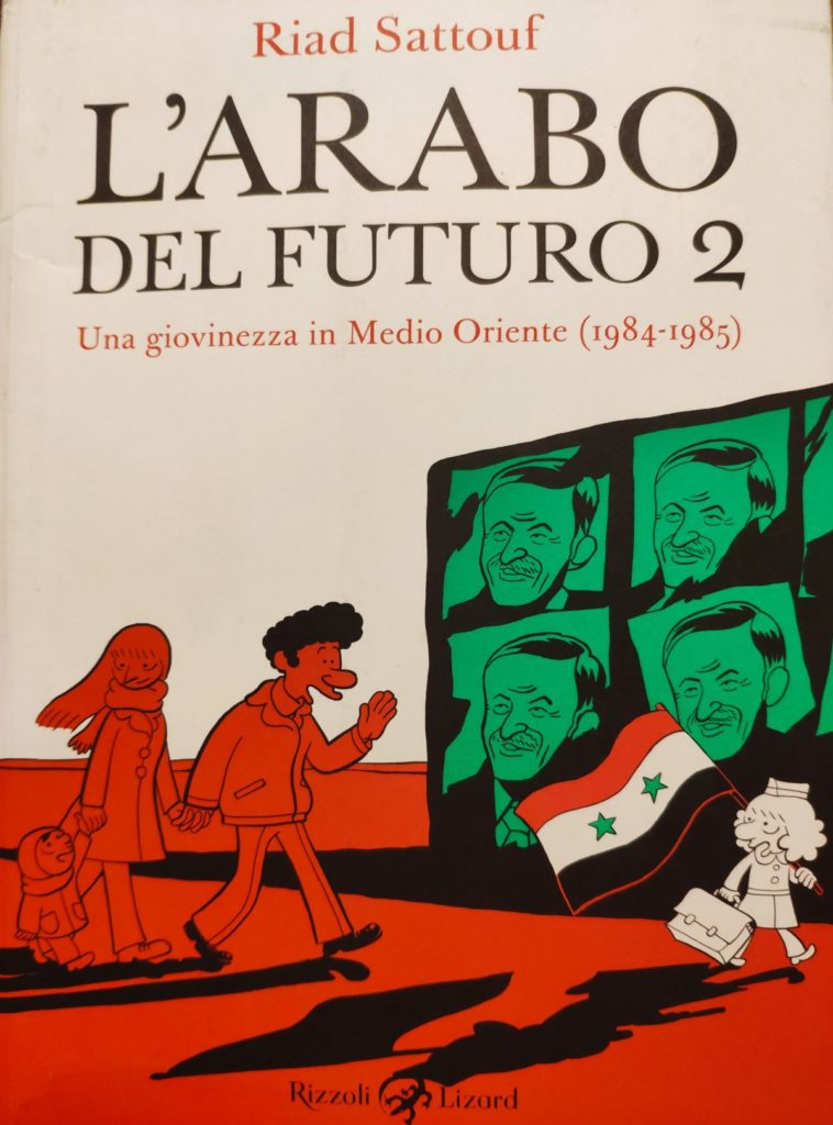 Mio caro fumetto... - Copertina de L'Arabo del futuro 2
