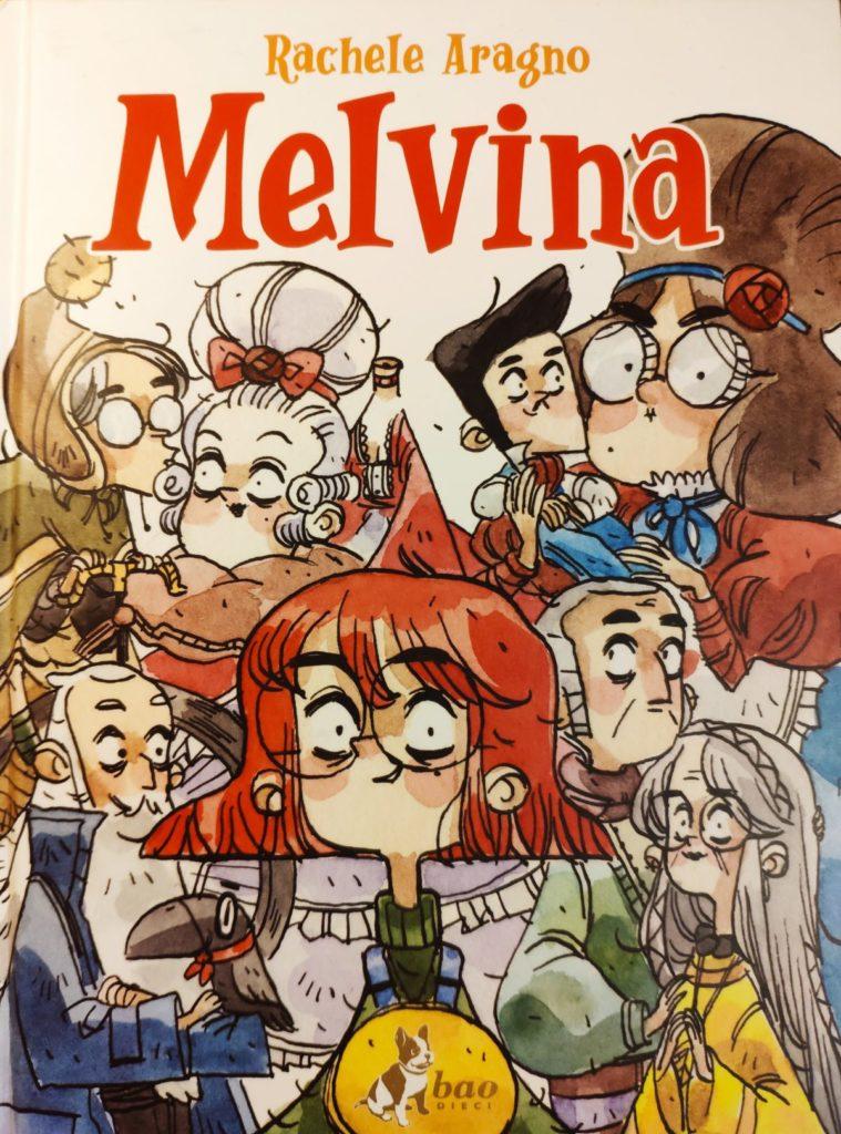 Mio caro fumetto... - Copertina di Melvina