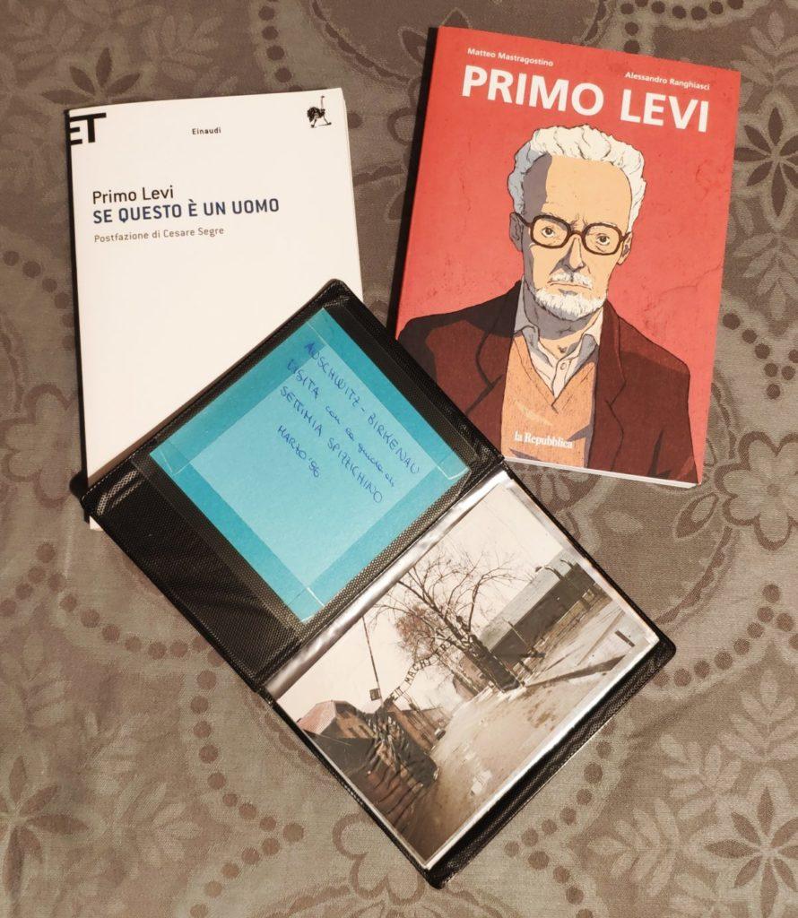 Mio caro fumetto... - Graphic novel Primo Levi, Se questo è un uomo e album di foto del viaggio ad Auschwitz con la scuola