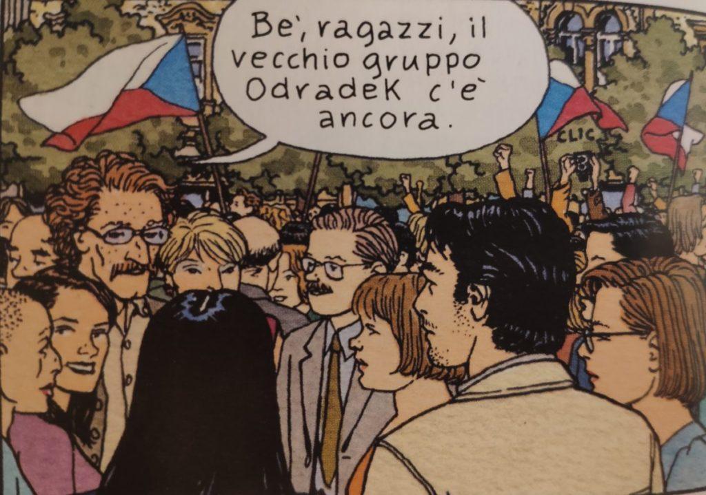 Mio caro fumetto... - Il gruppo Odradek anni dopo la fondazione in Jonas Fink