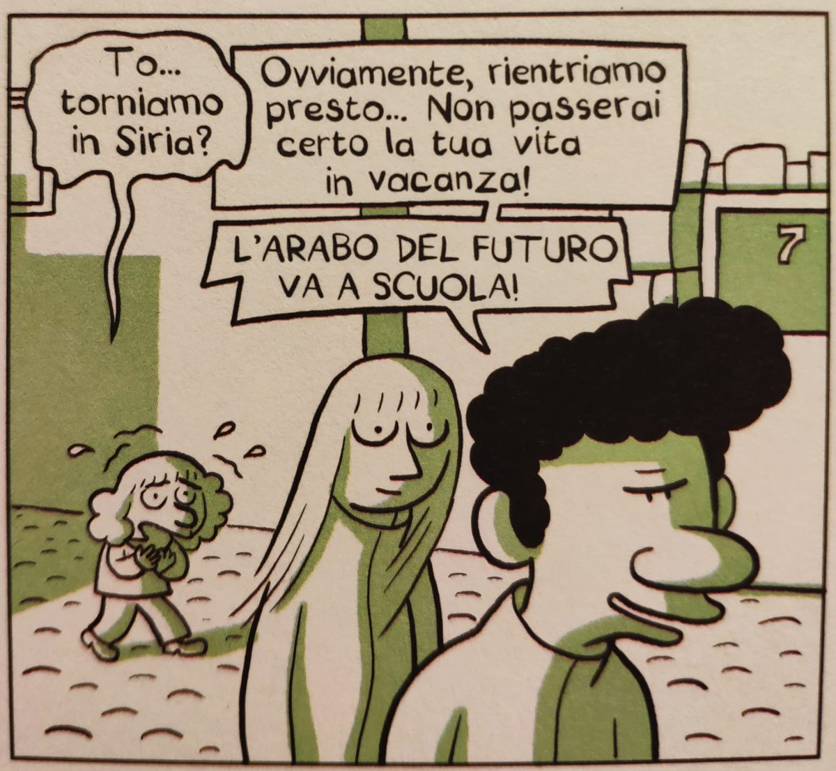 Mio caro fumetto... - L'arabo del futuro va a scuola