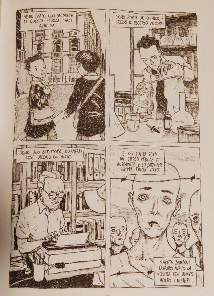 Mio caro fumetto... - La vita di Primo Levi in quattro vignette