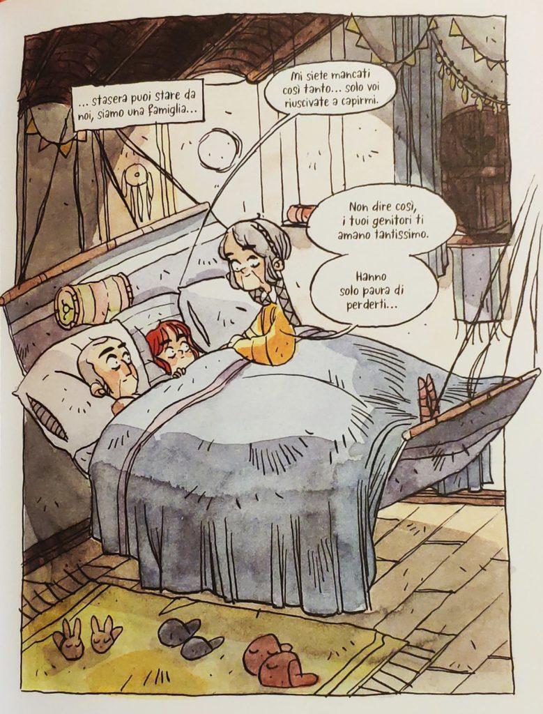 Mio caro fumetto... - Melvina a casa dei nonni in Aldiqua