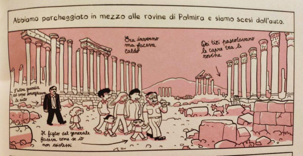 Mio caro fumetto... - Palmira ne L'arabo del futuro 2