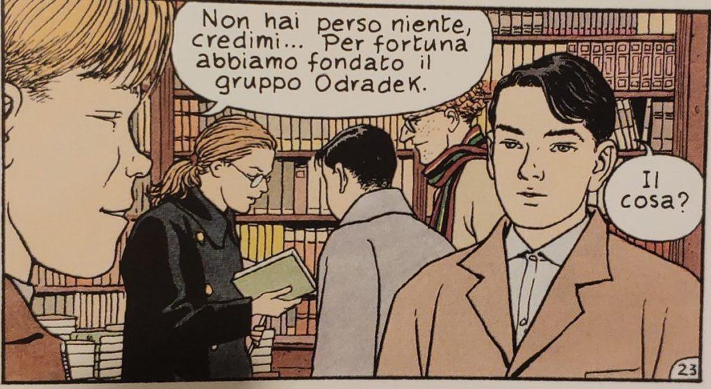 Mio caro fumetto... - Particolare sulla fondazione del gruppo Odradek in Jonas Fink