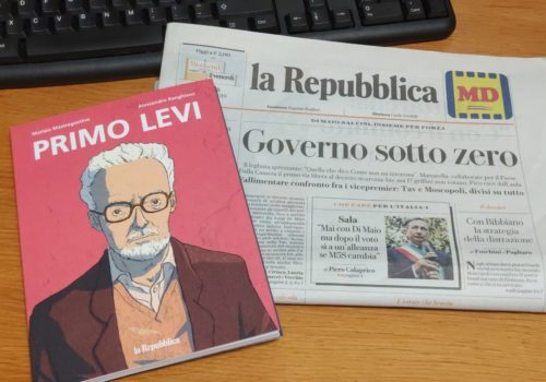 Mio caro fumetto... - Primo Levi venduto insieme a La Repubblica