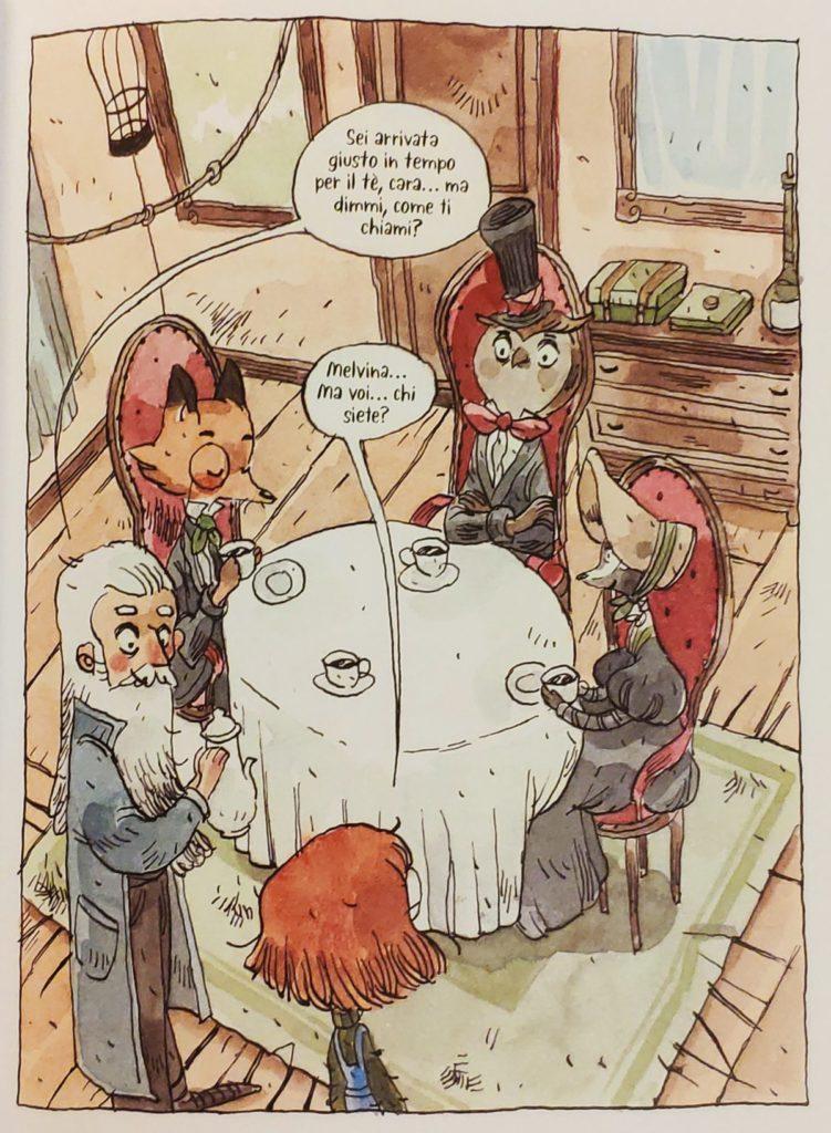 Mio caro fumetto... - Primo incontro di Melvina con Otto e gli altri