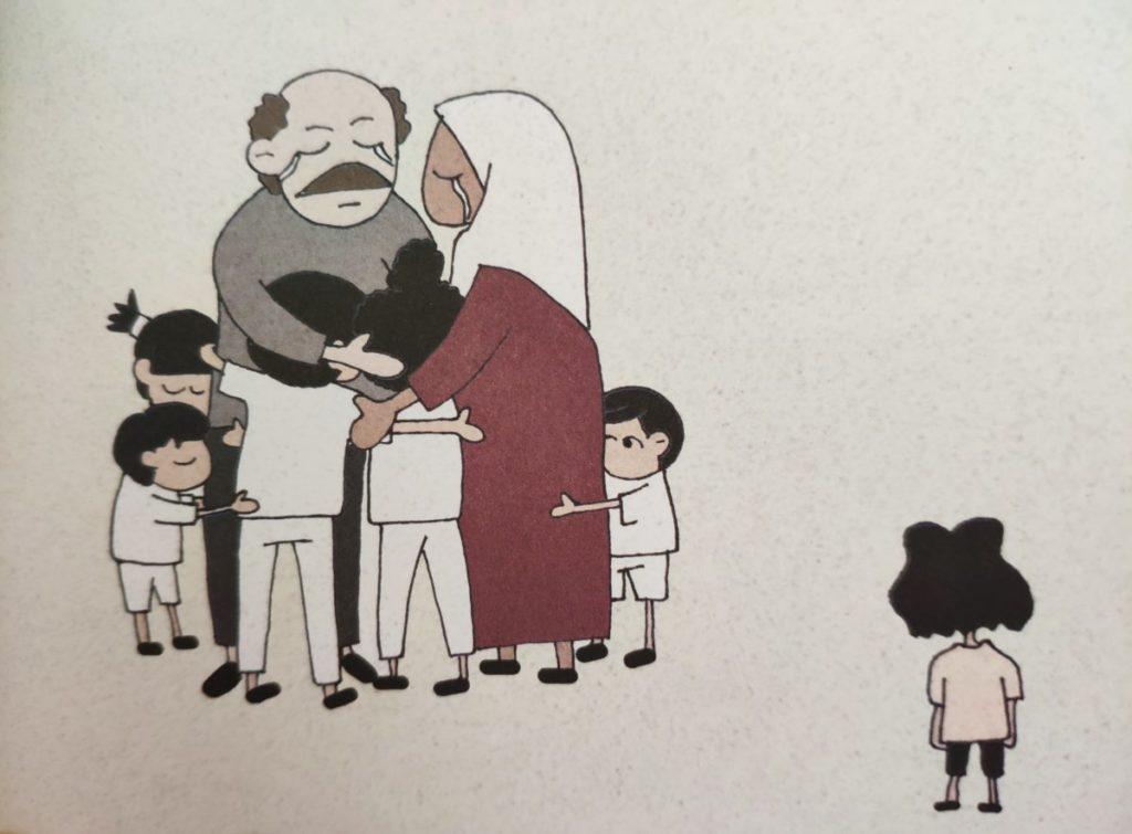 Mio caro fumetto... - Primo incontro di Takoua Ben Mohamed con il papà ne La rivoluzione dei gelsomini
