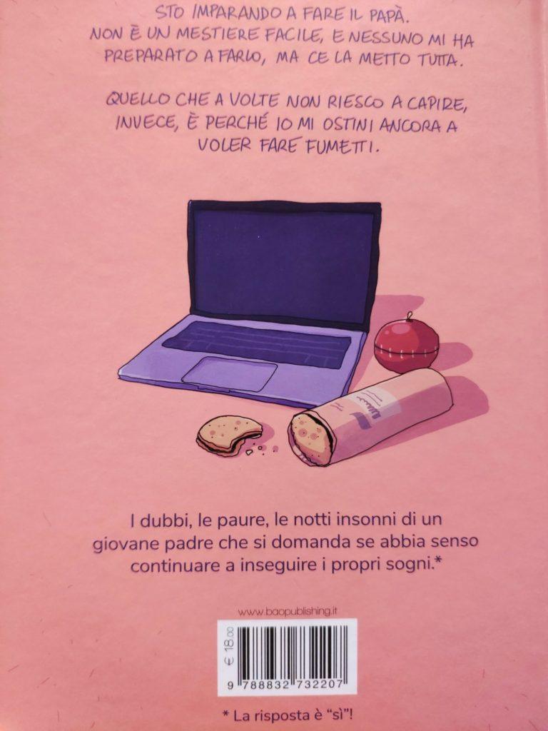 Mio caro fumetto... - Quarta di copertina di Pigiama computer biscotti