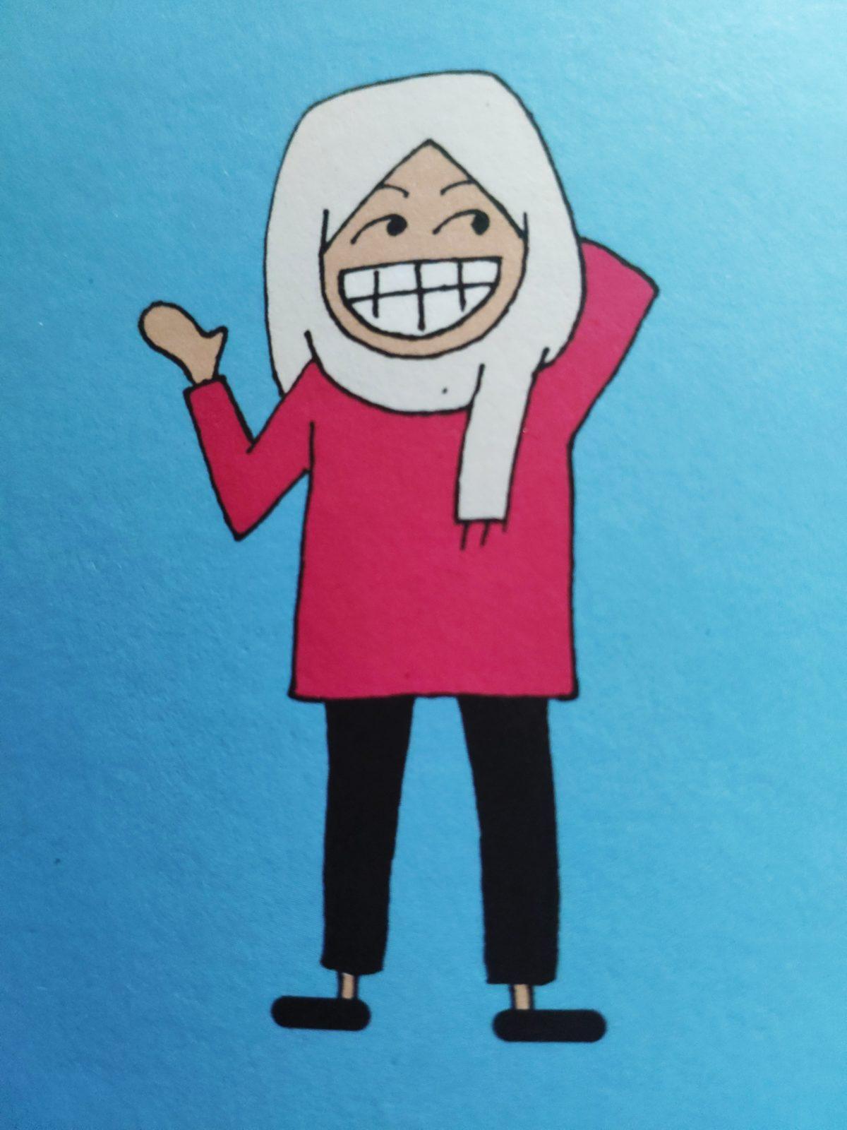 Mio caro fumetto... - Takoua Ben Mohamed ne La rivoluzione dei gelsomini