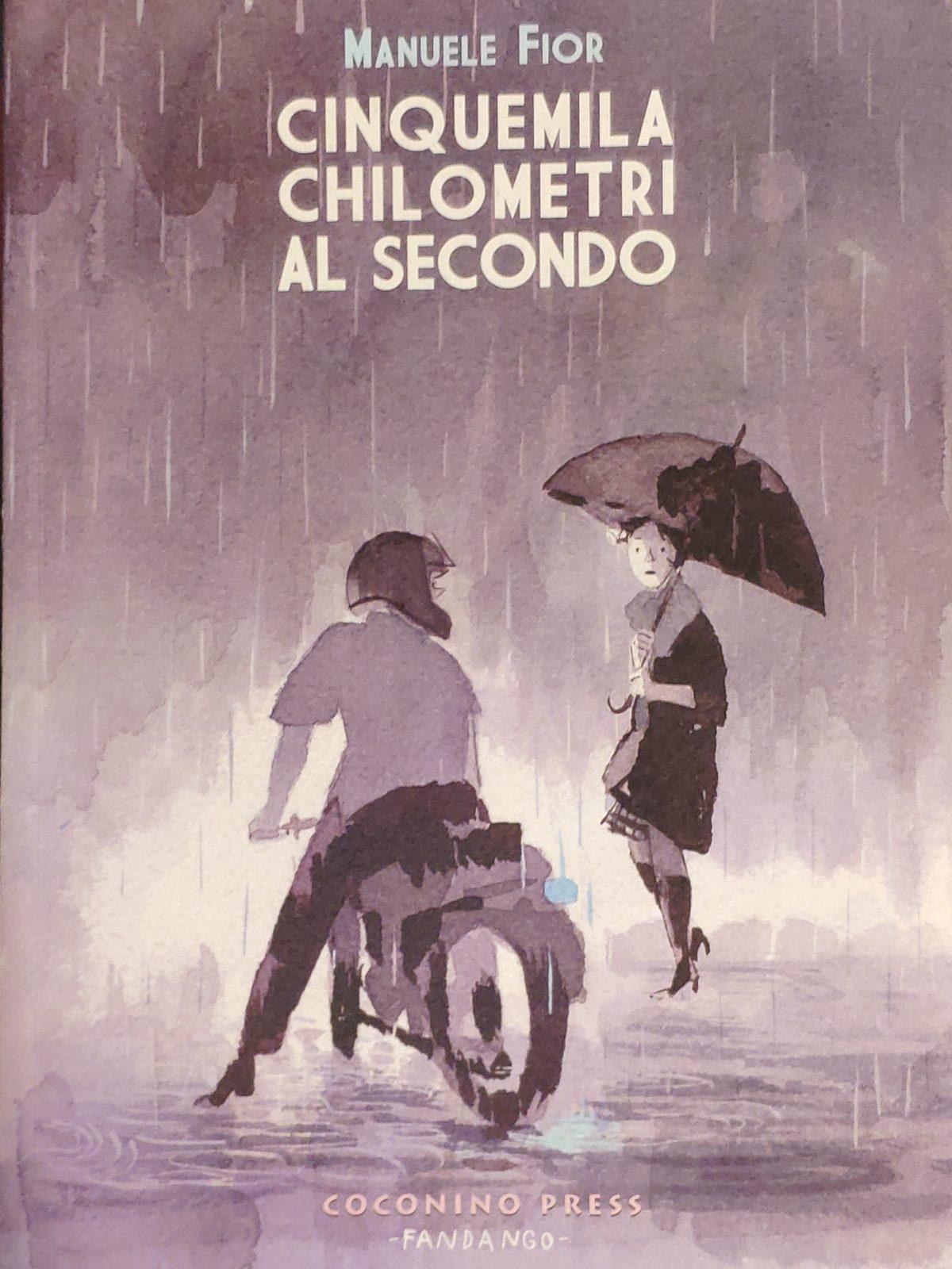 Mio caro fumetto... - Immagine di copertina del libro Cinquemila Chilometri al secondo