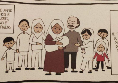 Mio caro fumetto... - La famiglia di Takoua Ben Mohamed al completo in La rivoluzione dei gelsomini
