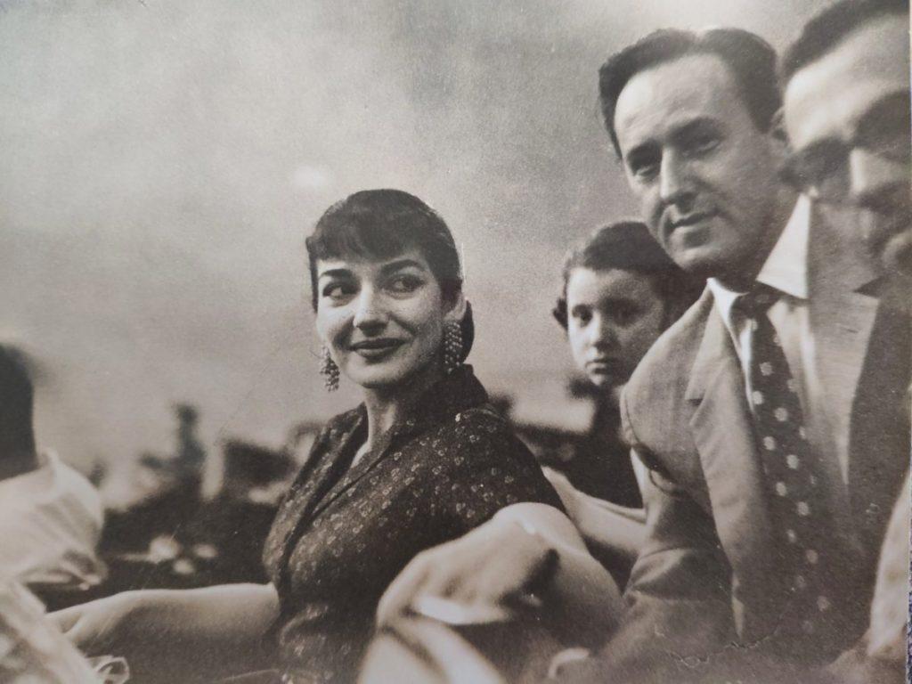 Mio caro fumetto... - Maria Callas con mio nonno e altri all'Auditorium della RAI di Roma