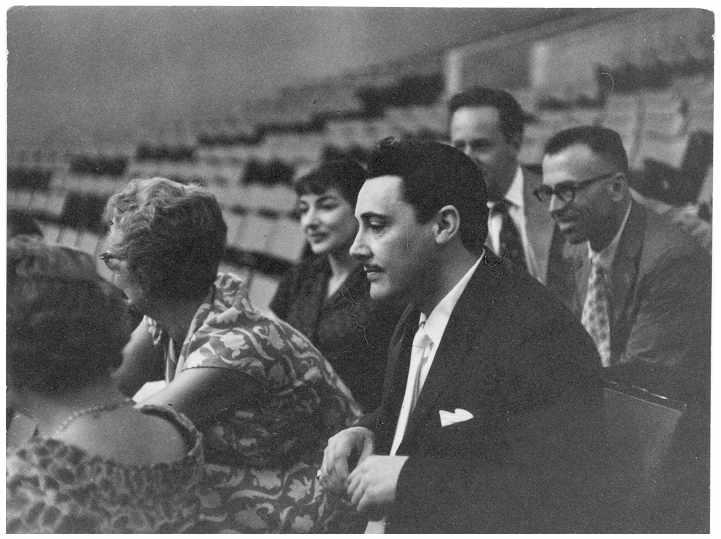 Mio caro fumetto... - Maria Callas e Mario Del Monaco con mio nonno e altri all'Auditorium della RAI di Roma