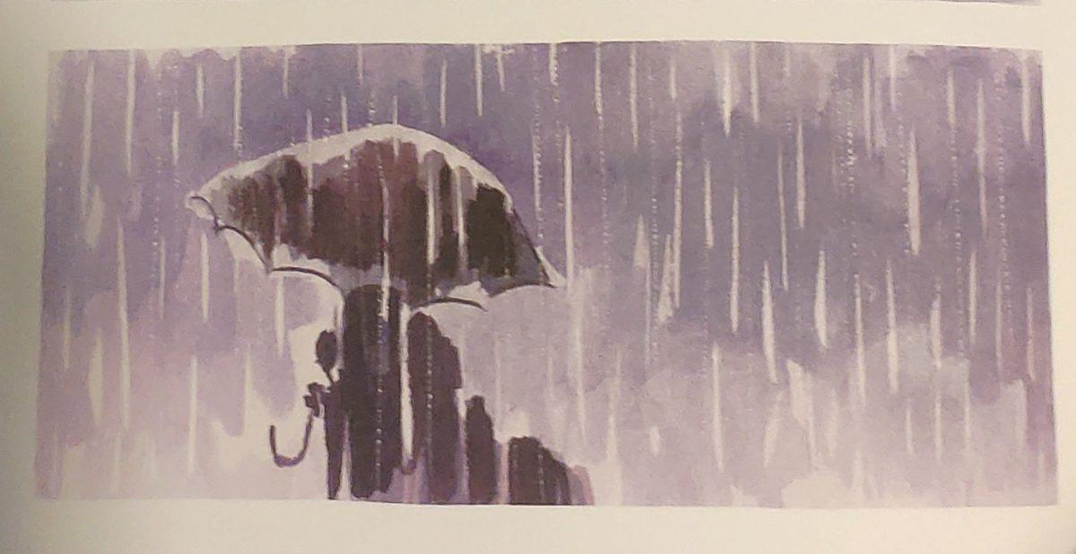 Mio caro fumetto... - Immagine del diluvio.