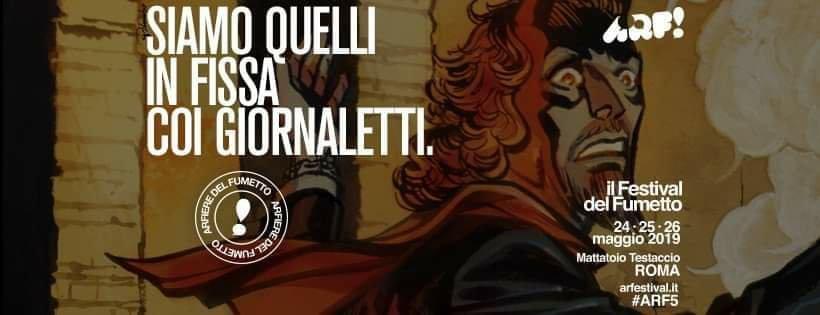 Mio caro fumetto... - Cover per Arfieri dell'ARF! 2019