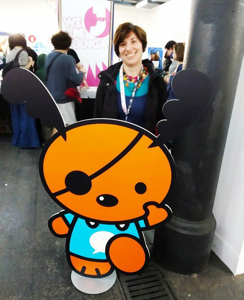 Mio caro fumetto... - Io insieme ad Arfio, mascotte dell'ARF! Festival