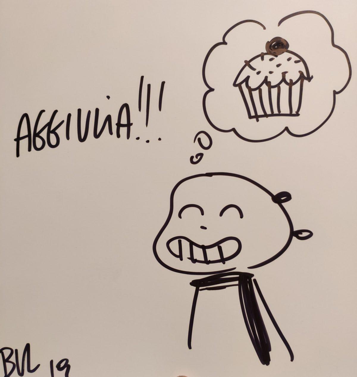 Mio caro fumetto... - Sketch di Giacomo Bevilacqua ottenuto all'ARF! 2019