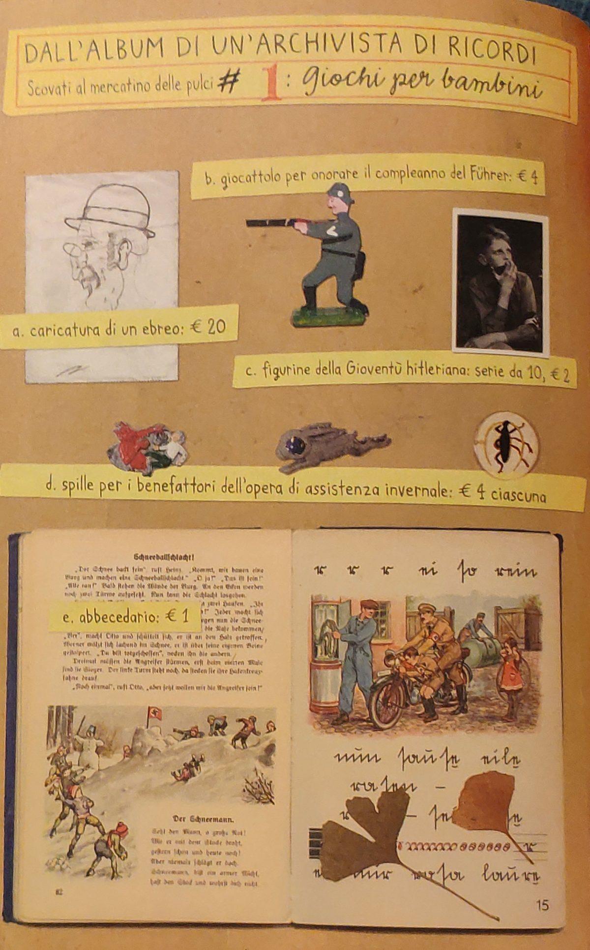 Mio Caro Fumetto - Heimat: un album di famiglia tedesco - Cimeli scovati da Nora Krug al mercatino delle pulci.