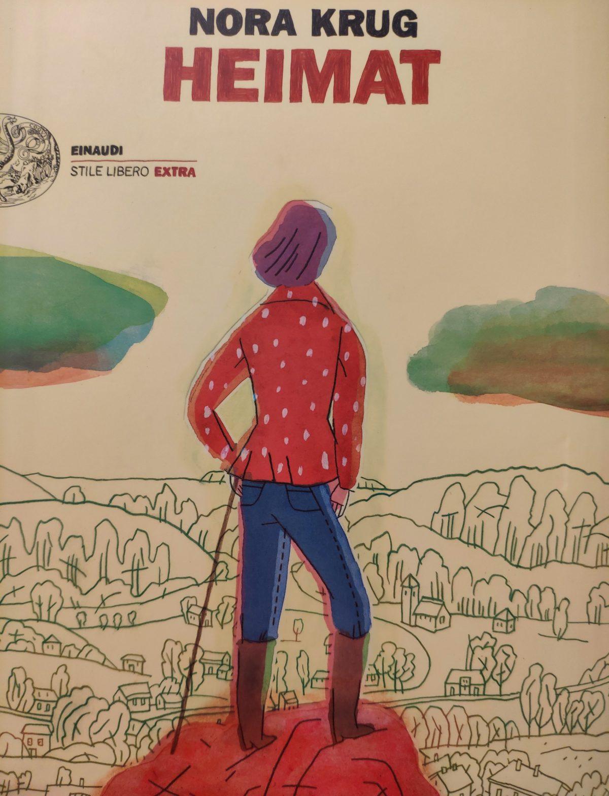 Mio Caro Fumetto - Heimat: un album di famiglia tedesco - Copertina del volume Heimat di Nora Krug.