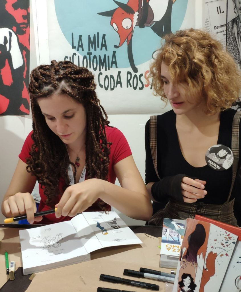 Mio caro fumetto... - Firmacopie di Lou Lubie e Manon Desveaux allo stand di ComicOut