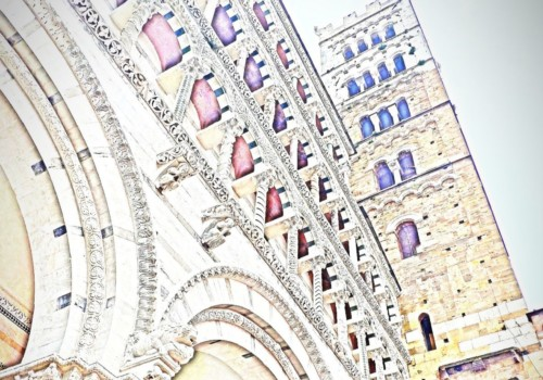 Mio caro fumetto... - La cattedrale di San Martino di Lucca