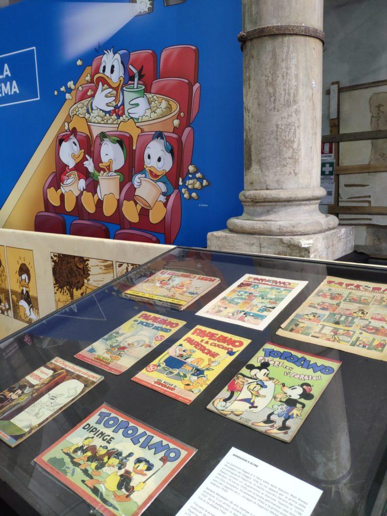 Mio Caro Fumetto - Lucca Comics & Rain 2019 - Edizioni storiche di fumetti in cui Paperino fa le sue prime apparizioni.