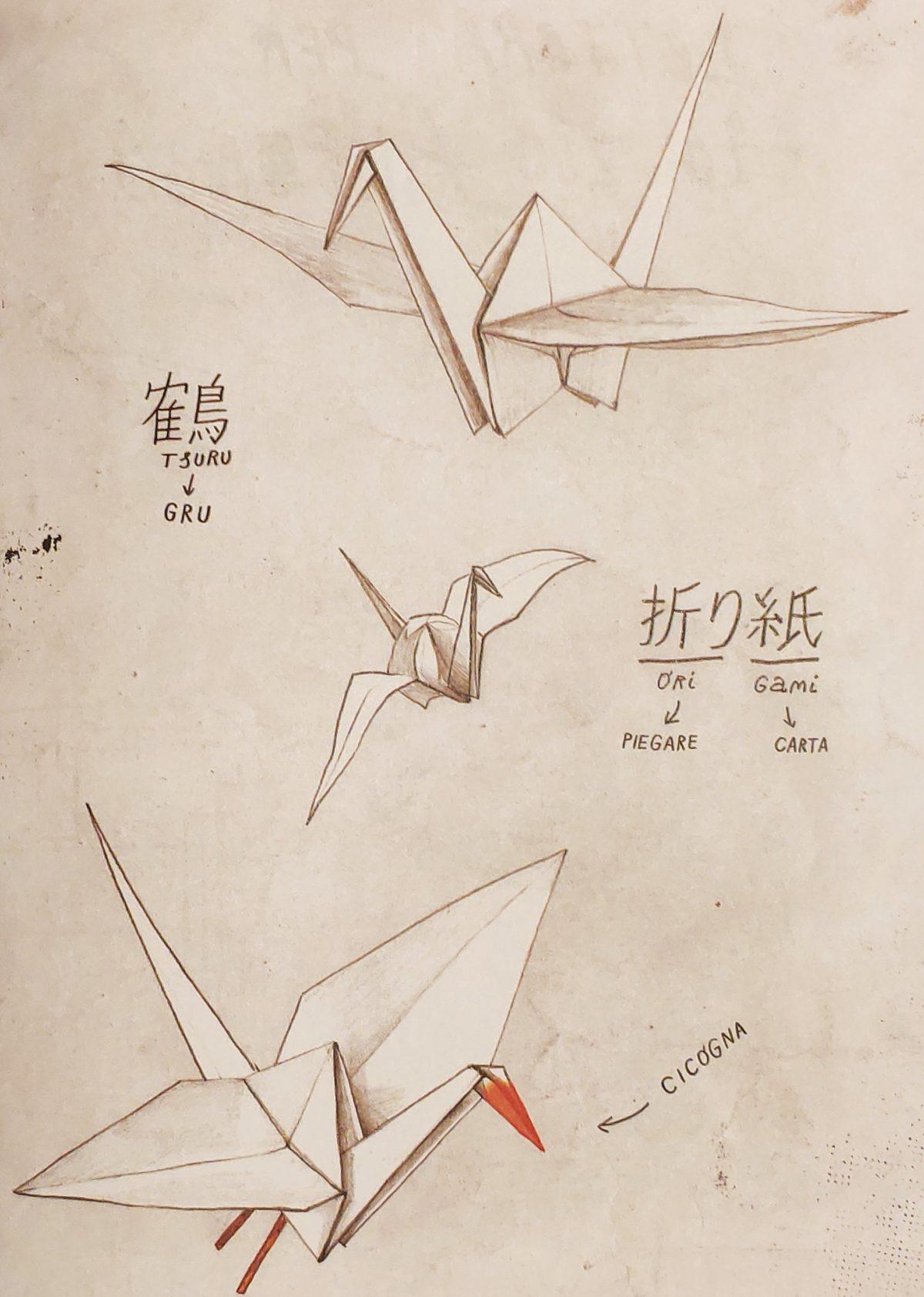 Mio caro fumetto... - Gli origami