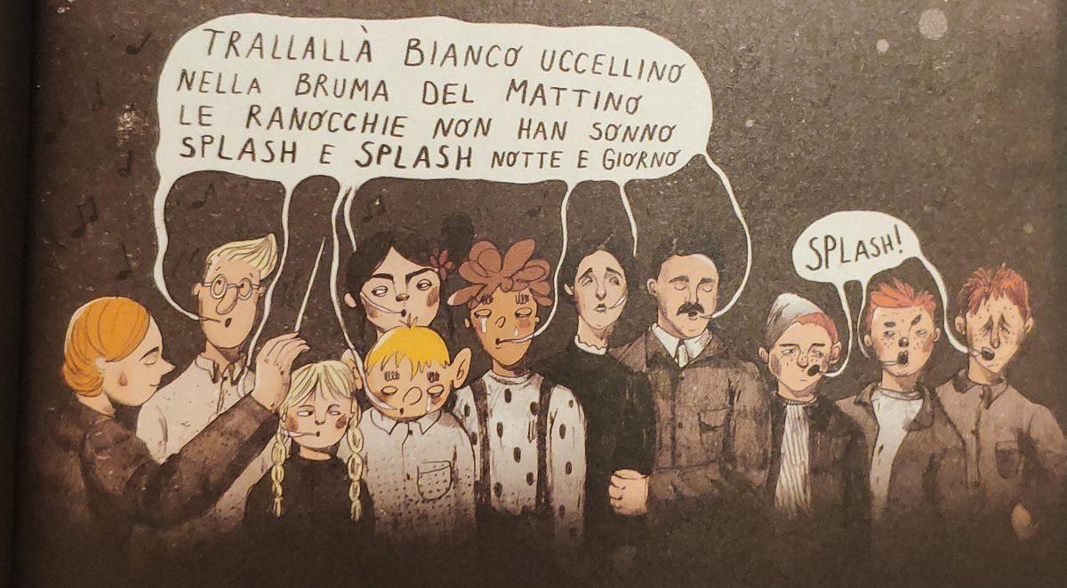 """Mio caro fumetto... - Il coro """"Semi di mela"""""""