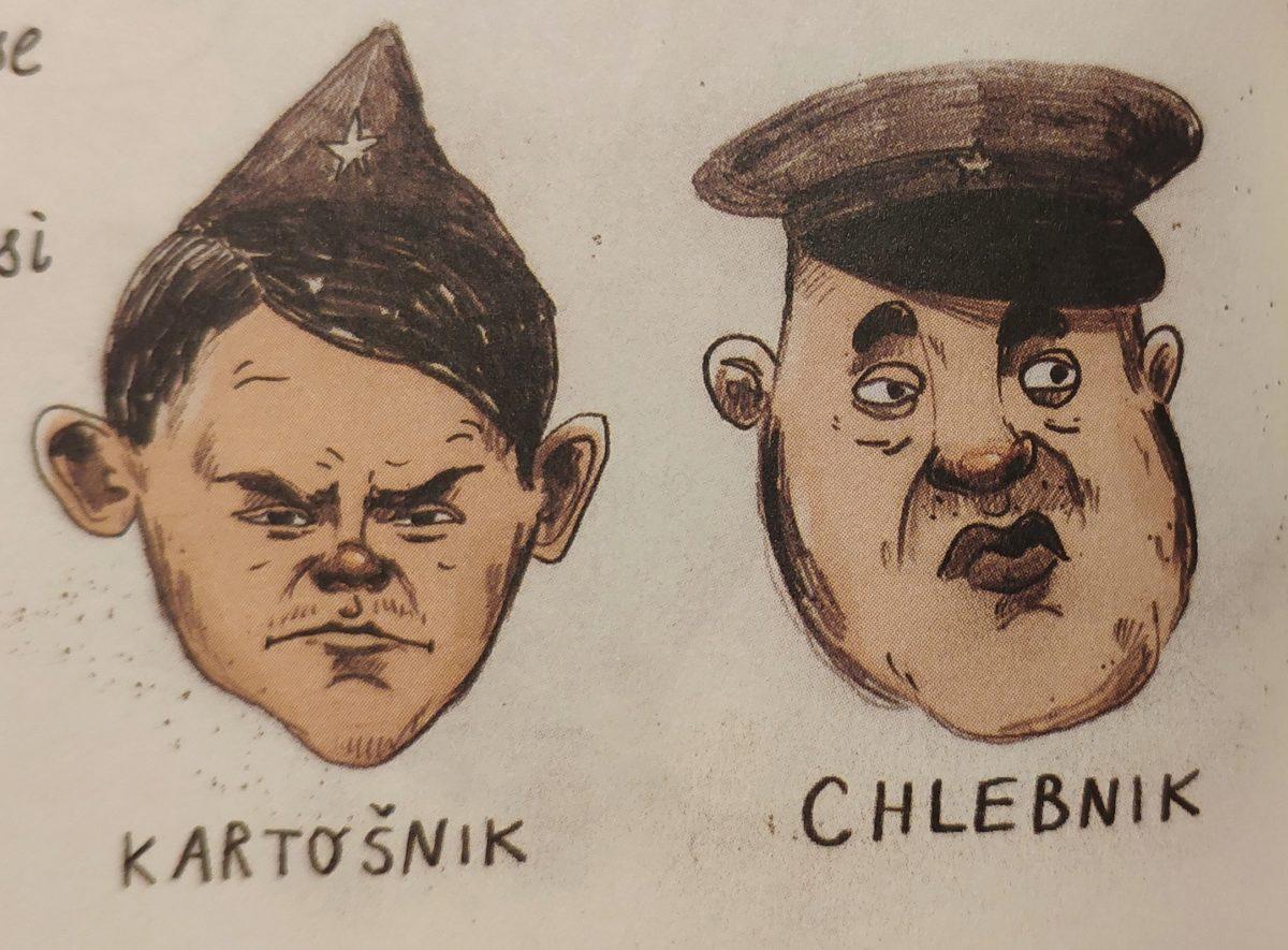 Mio caro fumetto... - Le guardie Chlebnik e Kartošnik