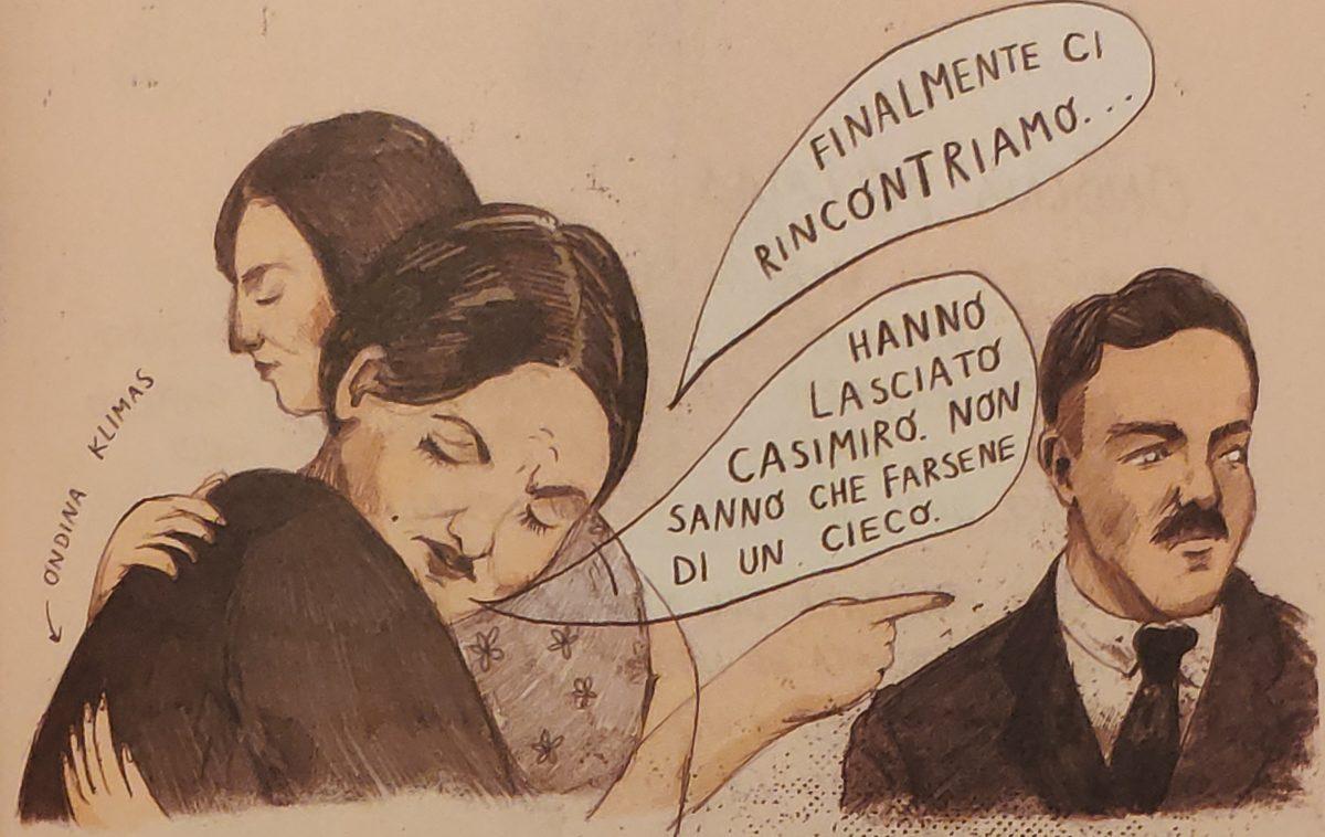 Mio caro fumetto... - Ondina Klimas e il marito Casimiro