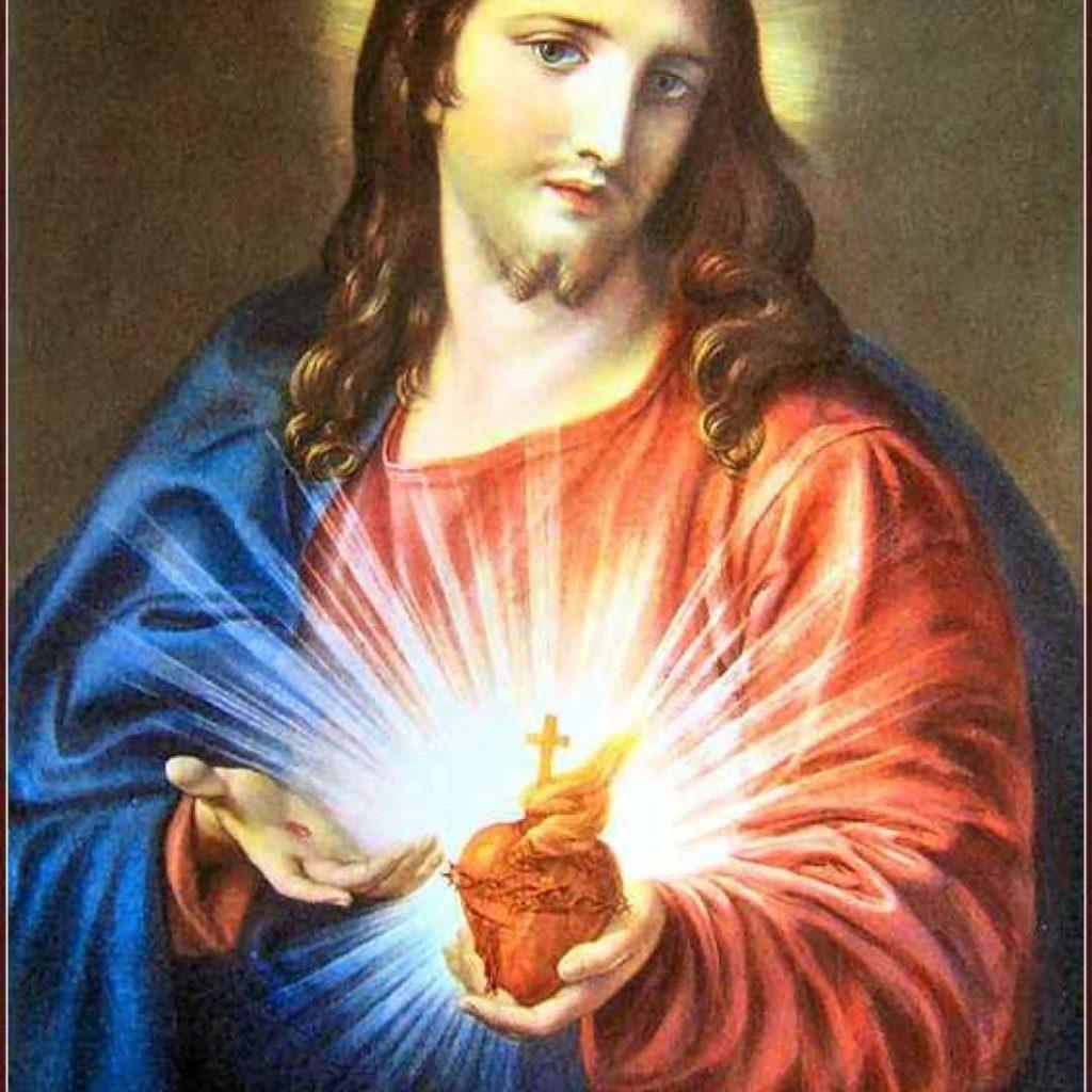 Mio caro fumetto... - Sacro Cuore di Gesù di Pompeo Batoni