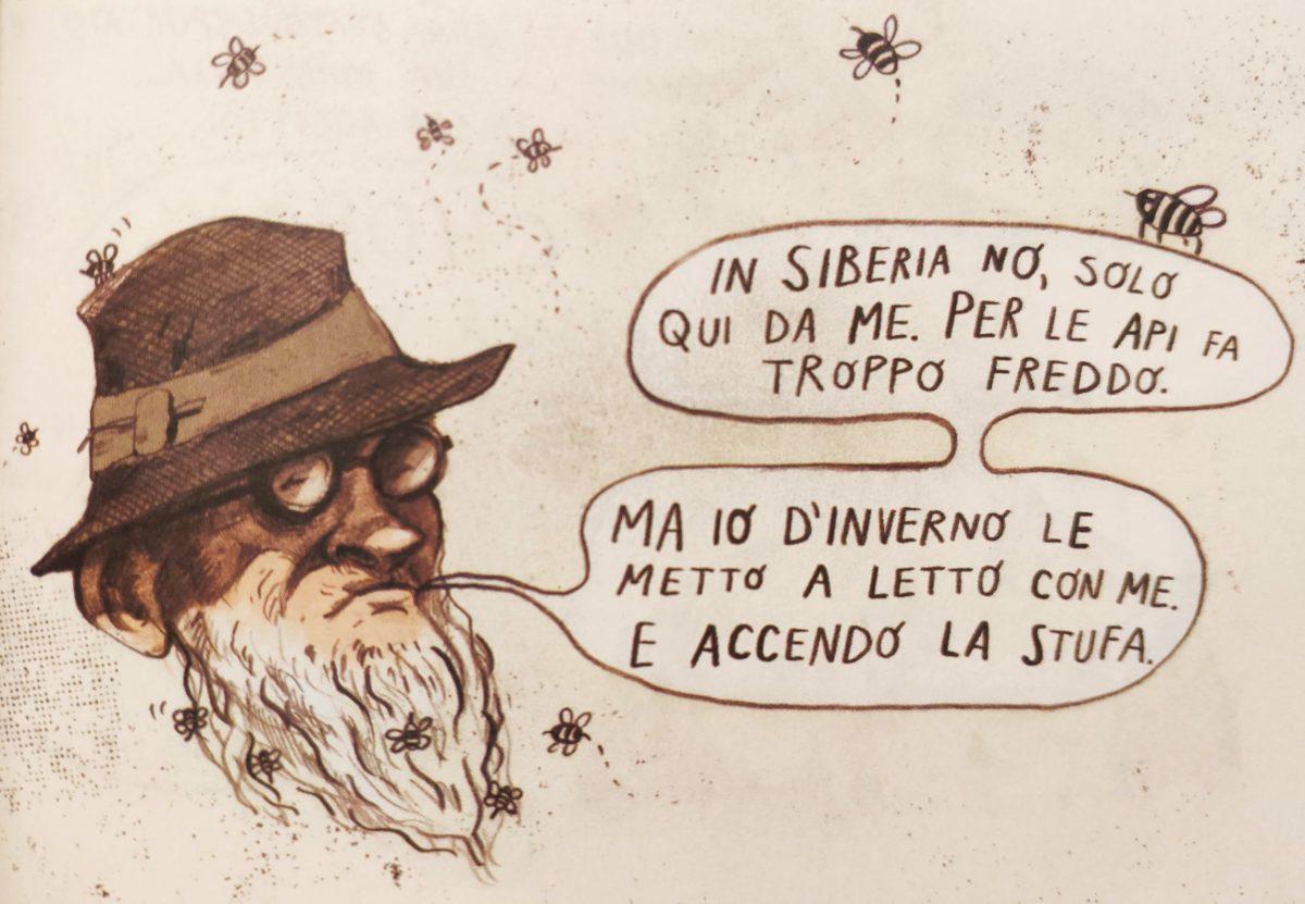 Mio caro fumetto... - Zio Vasja, il misterioso apicultore
