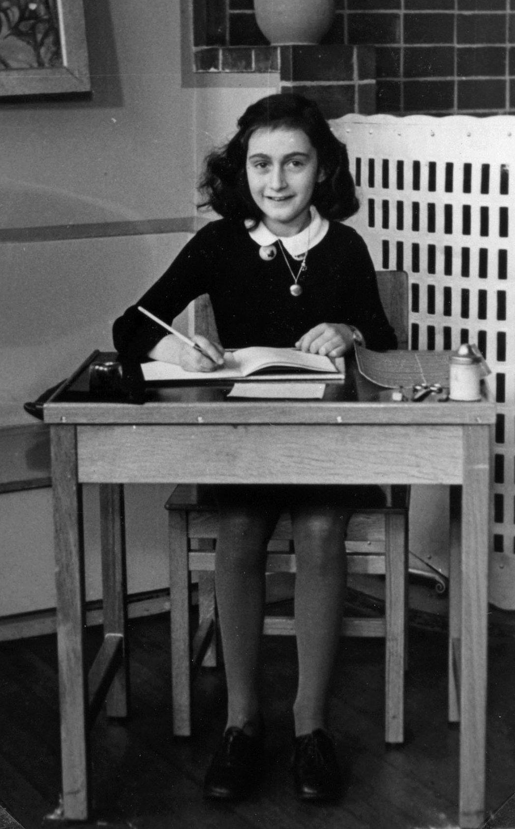 Mio caro fumetto… – Foto di Anne Frank nel 1940