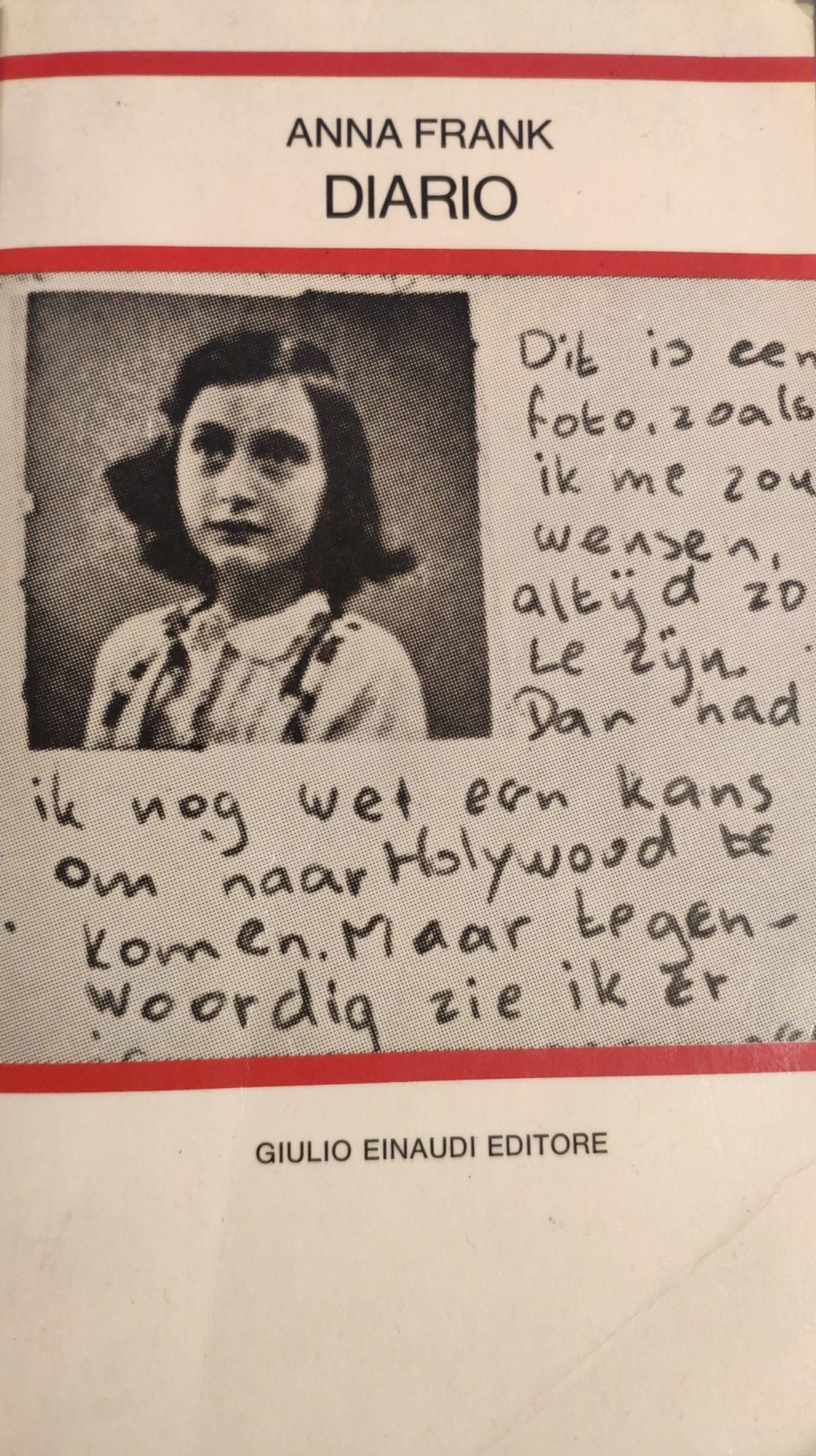 Mio caro fumetto… – Copertina de Il diario di Anna Frank (Einaudi, 1986)