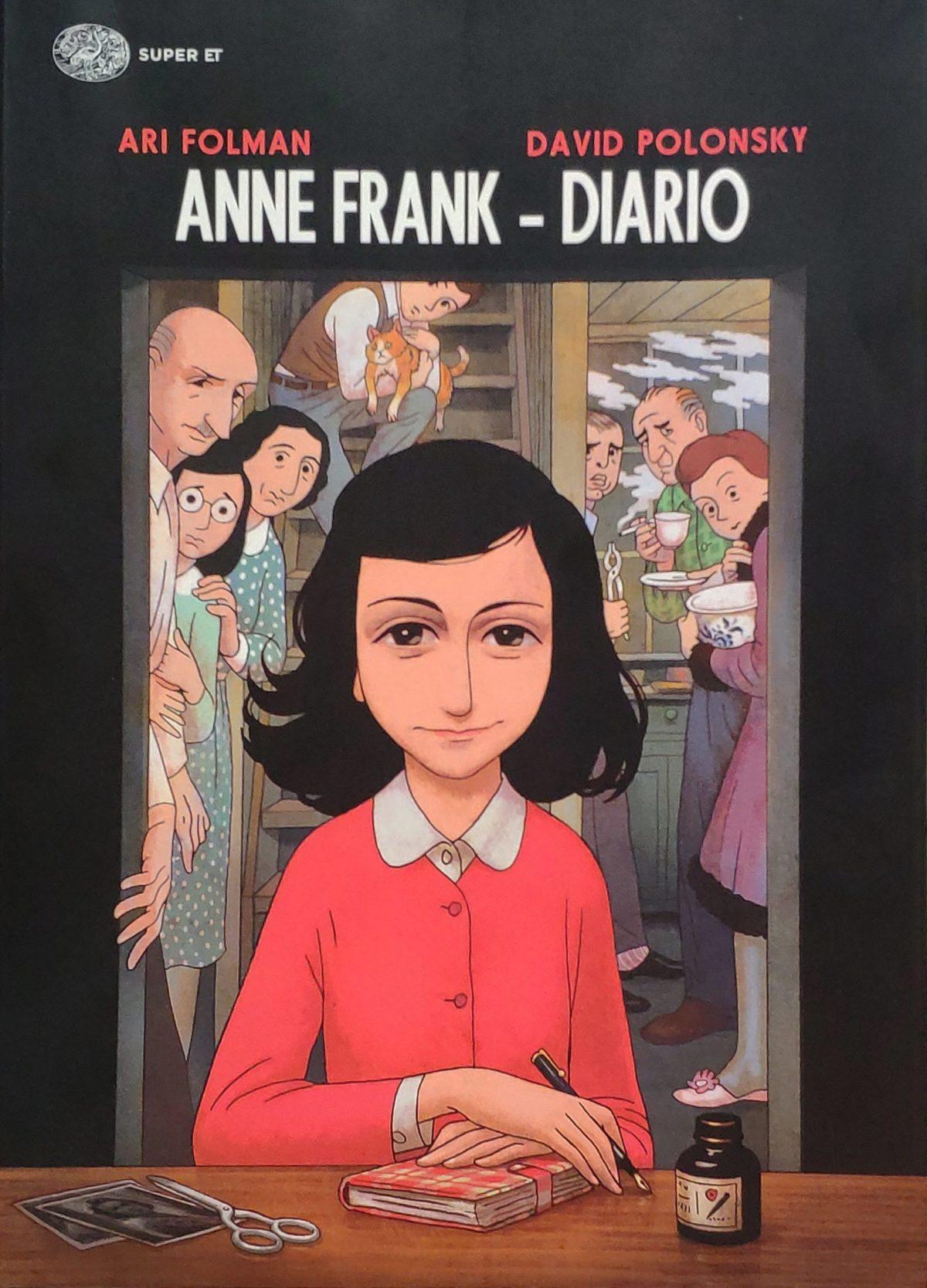 Mio caro fumetto… – Copertina di Anne Frank-Diario