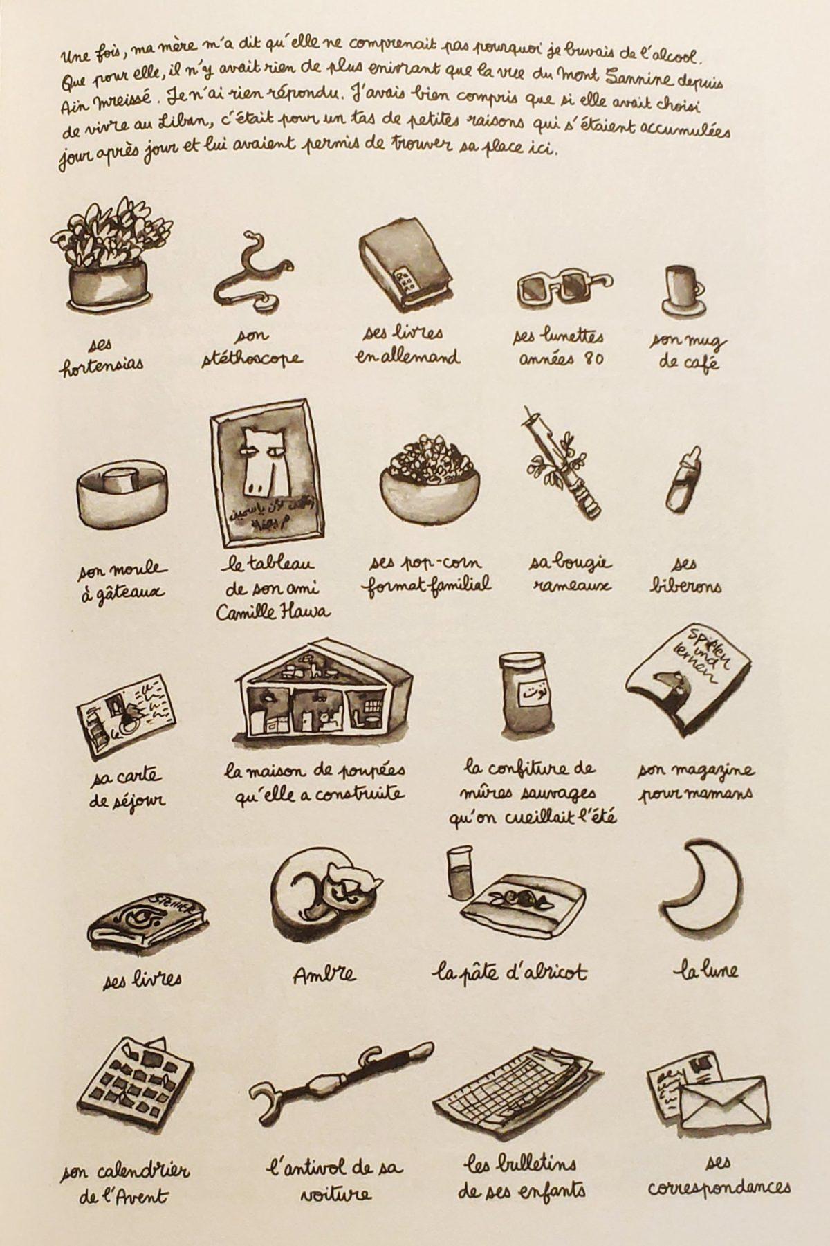 Mio caro fumetto… – Laban et confiture - Le piccole cose quotidiane e la scelta di vivere in Libano