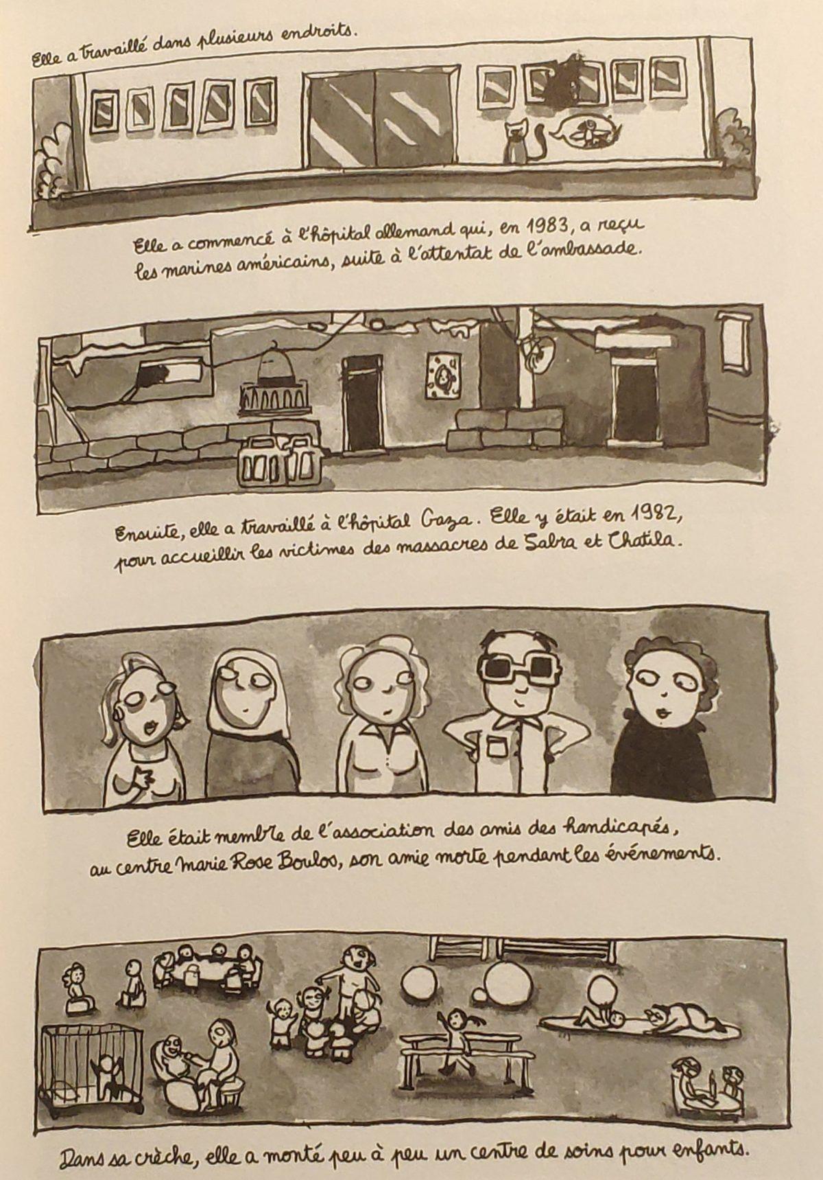 Mio caro fumetto… – Laban et confiture - Mamma Valli e il suo lavoro
