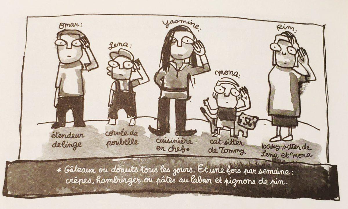 Mio caro fumetto… – Laban et confiture - Ognuno in famiglia ha i suoi compiti