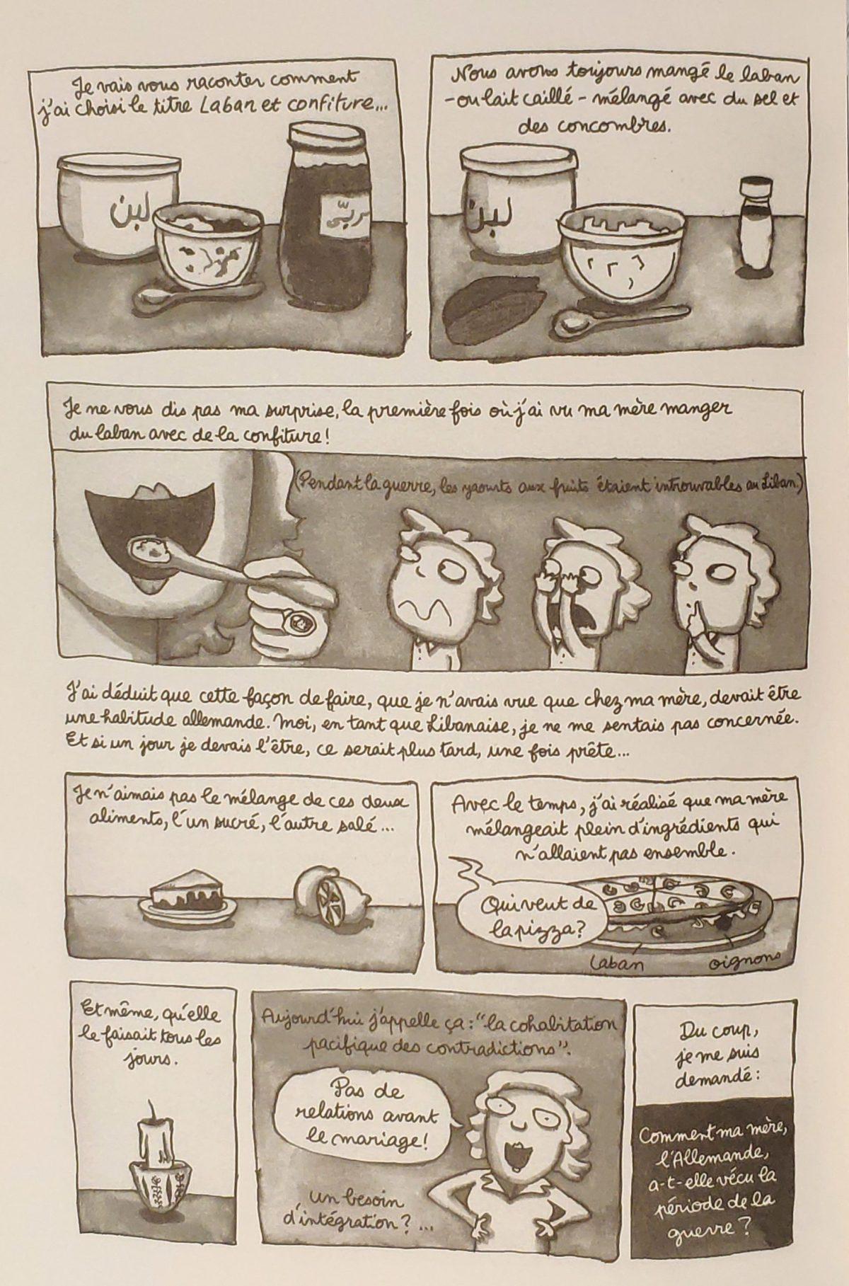 Mio caro fumetto… – Laban et confiture - Spiegazione del titolo Laban et confiture