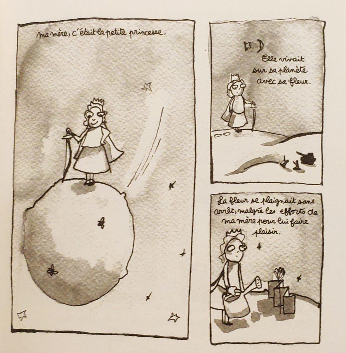 Mio caro fumetto… – Laban et confiture - Valli per sua figlia è un mamma principessa