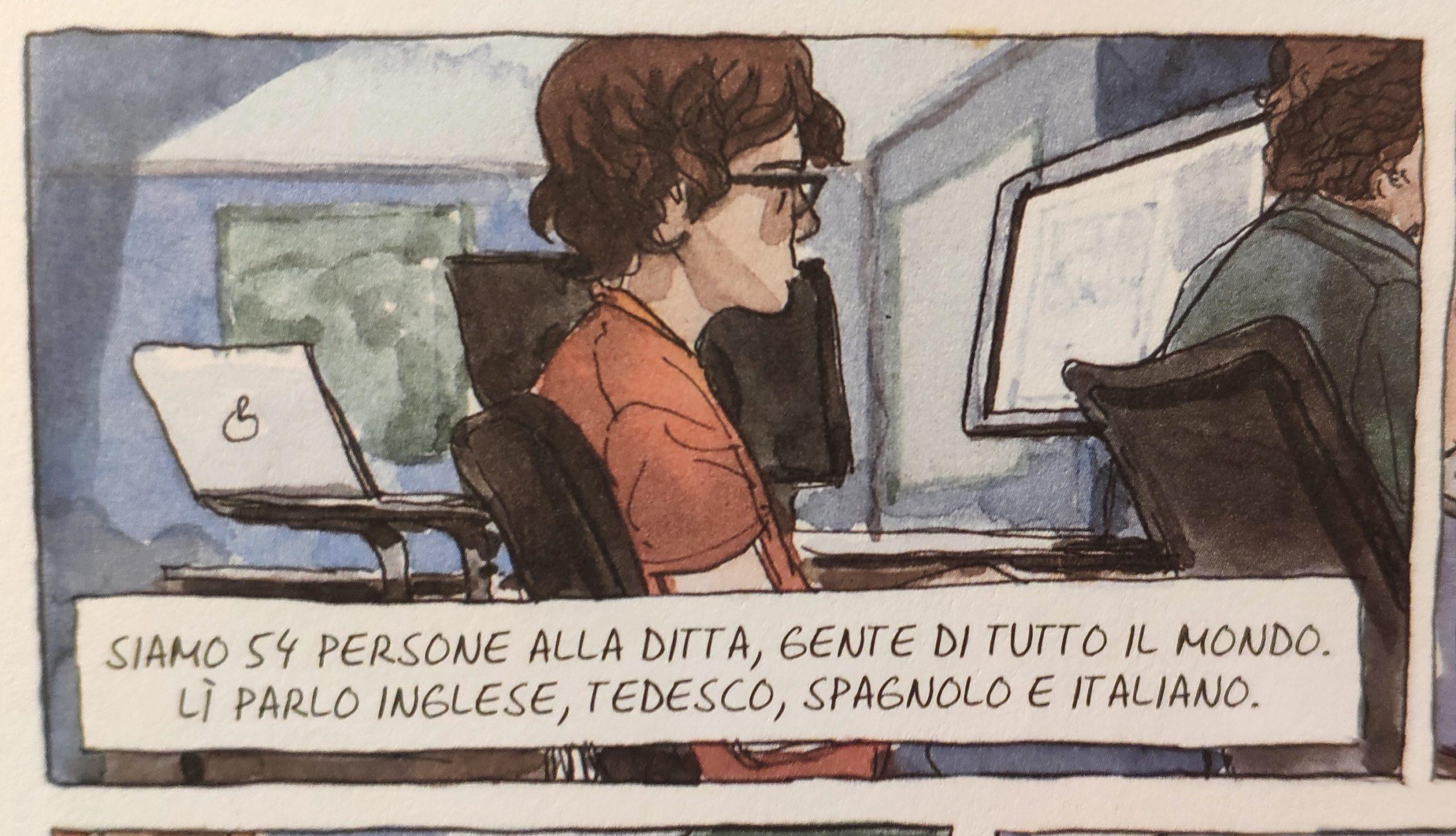 Mio caro fumetto… – Javi e il lavoro vero