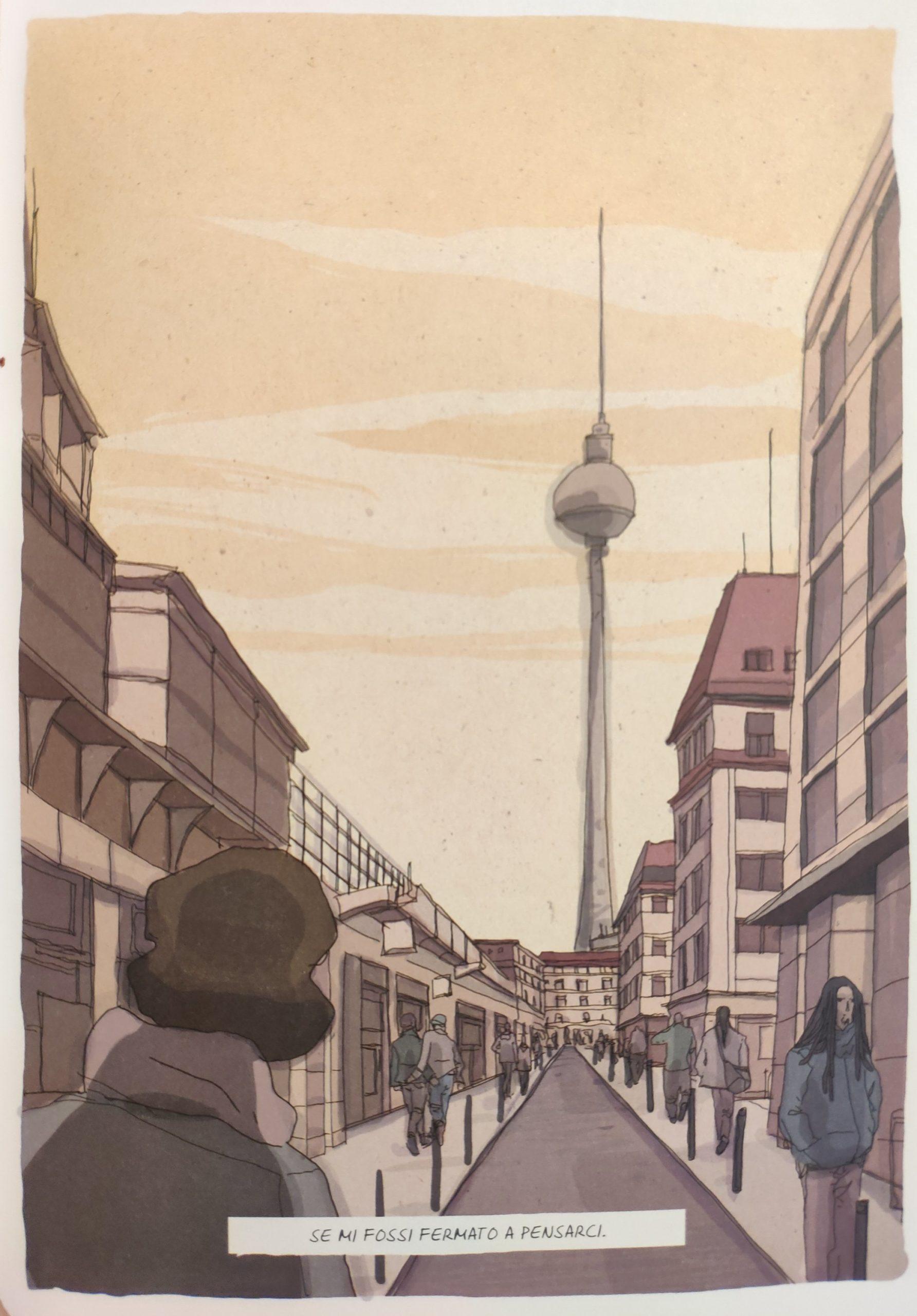 Mio caro fumetto… – La torre della televisione di Berlino