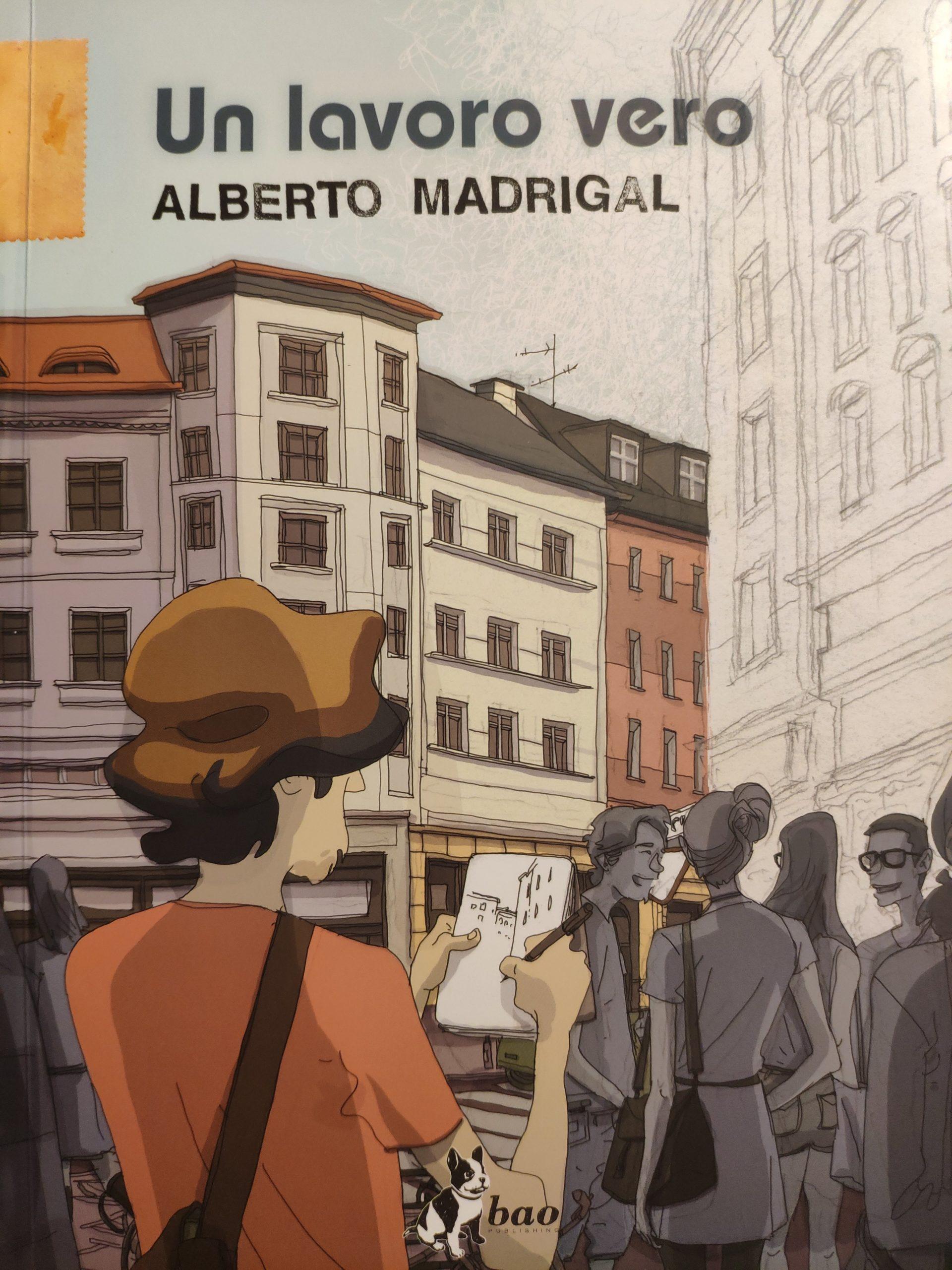Mio caro fumetto… – Copertina di un lavoro vero