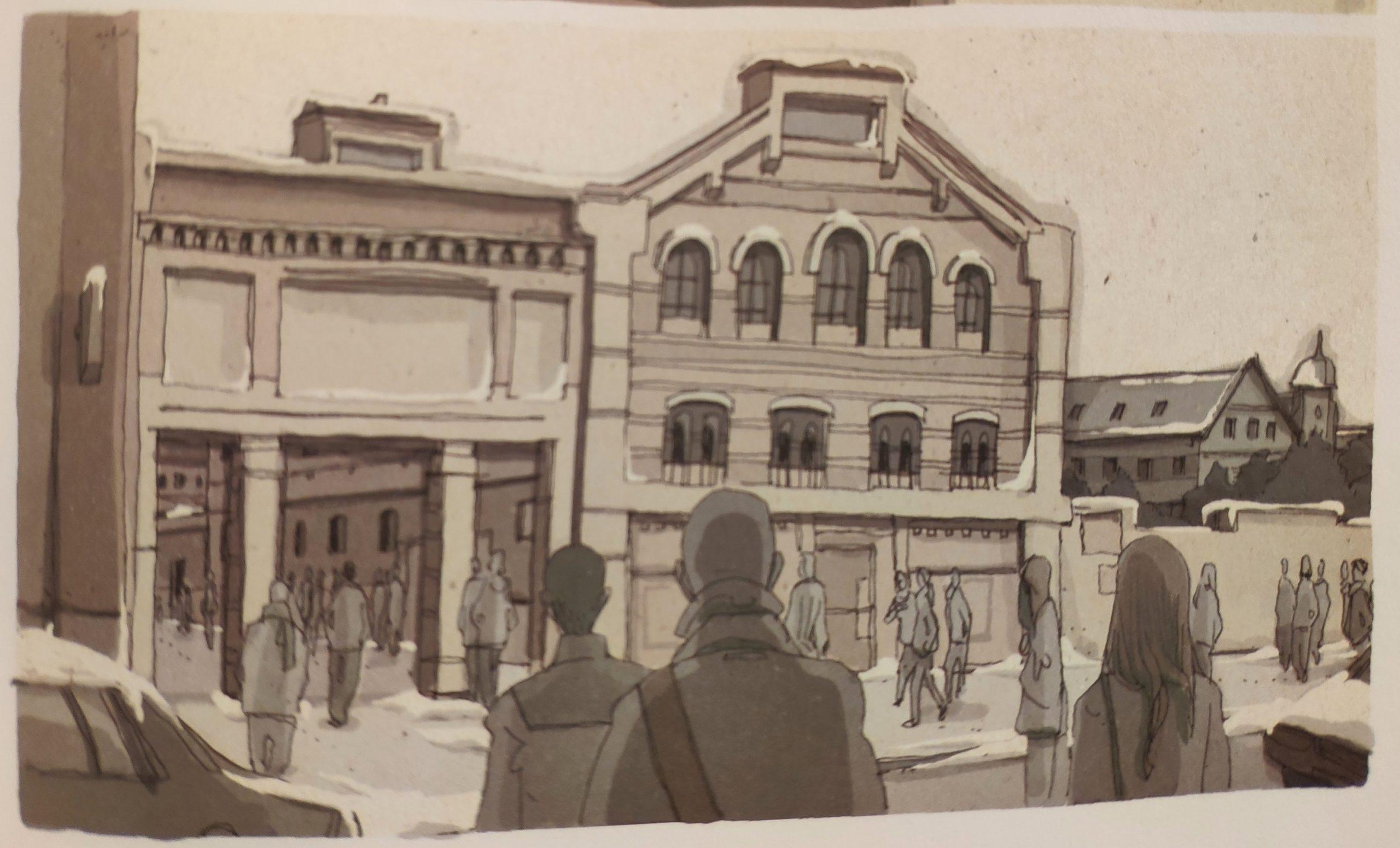 Mio caro fumetto… – Andando al lavoro a Berlino
