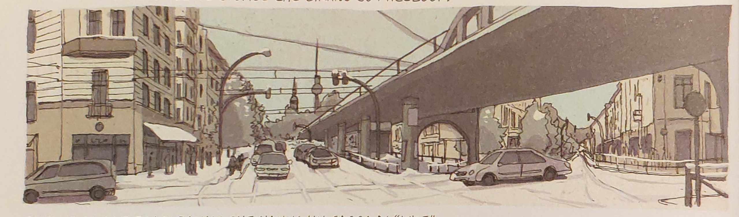 Mio caro fumetto… – Berlino e la U-Bahn sopraelevata